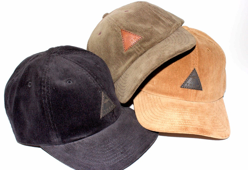 Image of THEM - Corduroy Visitors Dad Cap