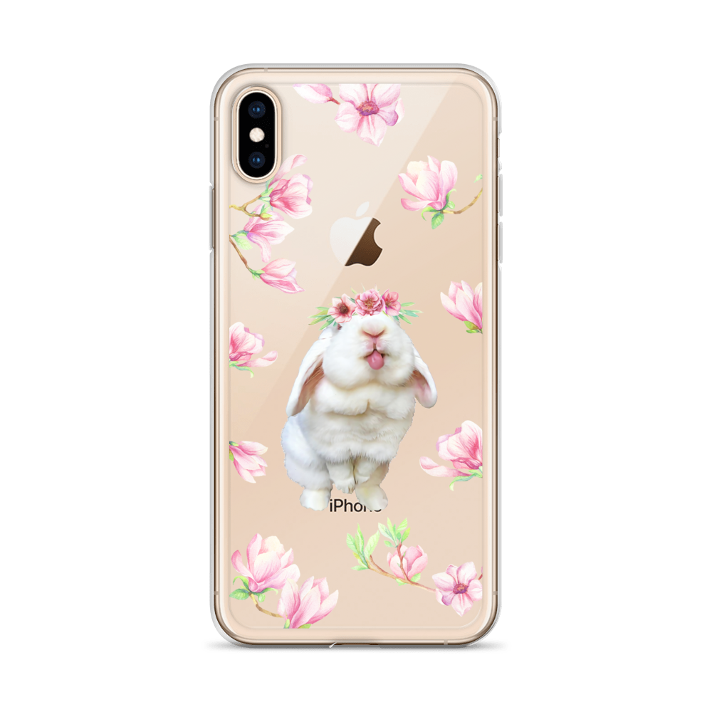 Image of Blanco 'Pink Flowers' iPhone Case