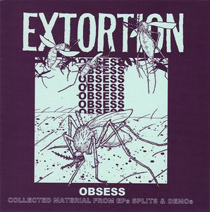 Image of Extortion - Obsess CD
