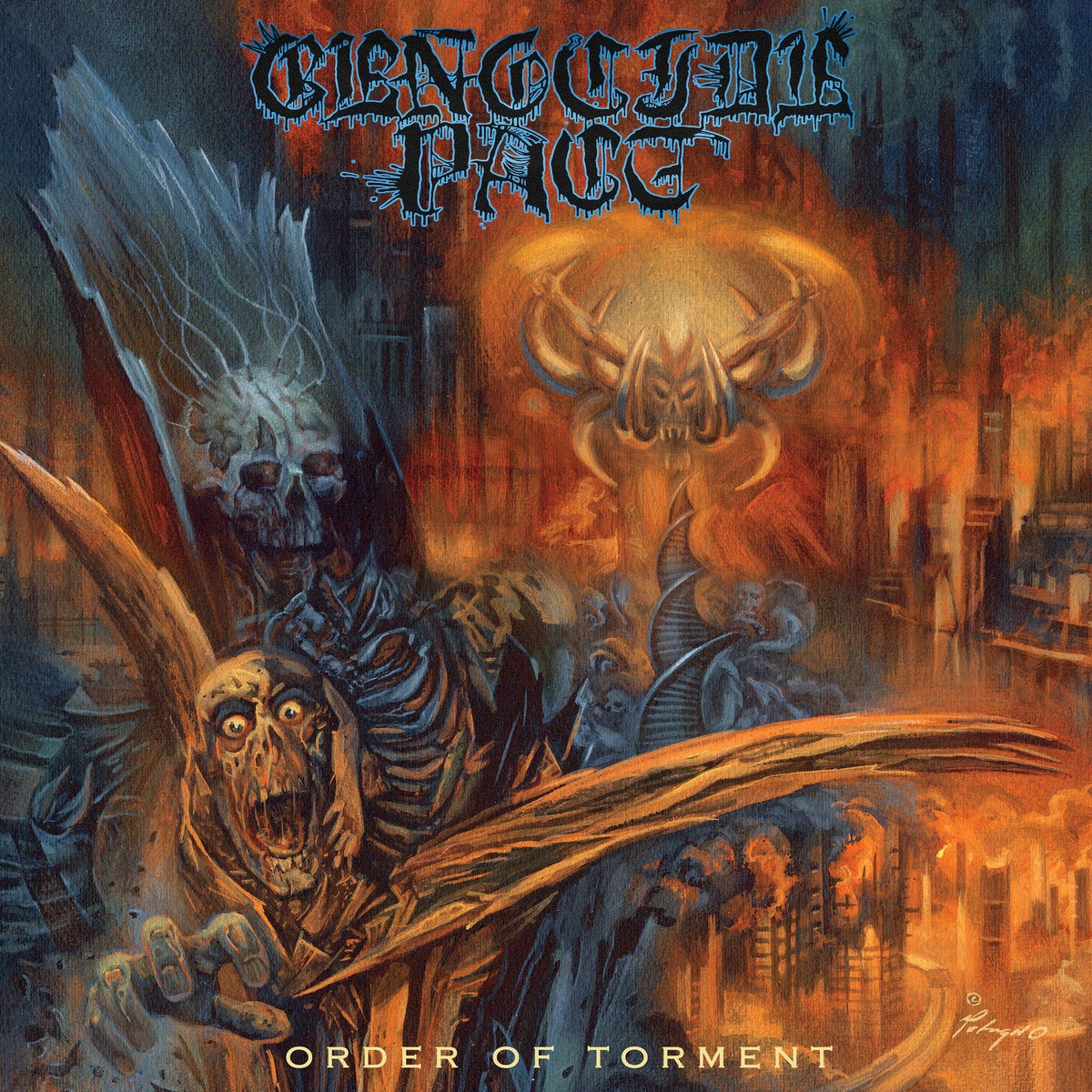 "Image of Genocide Pact - Order of Torment 12"" / CD"