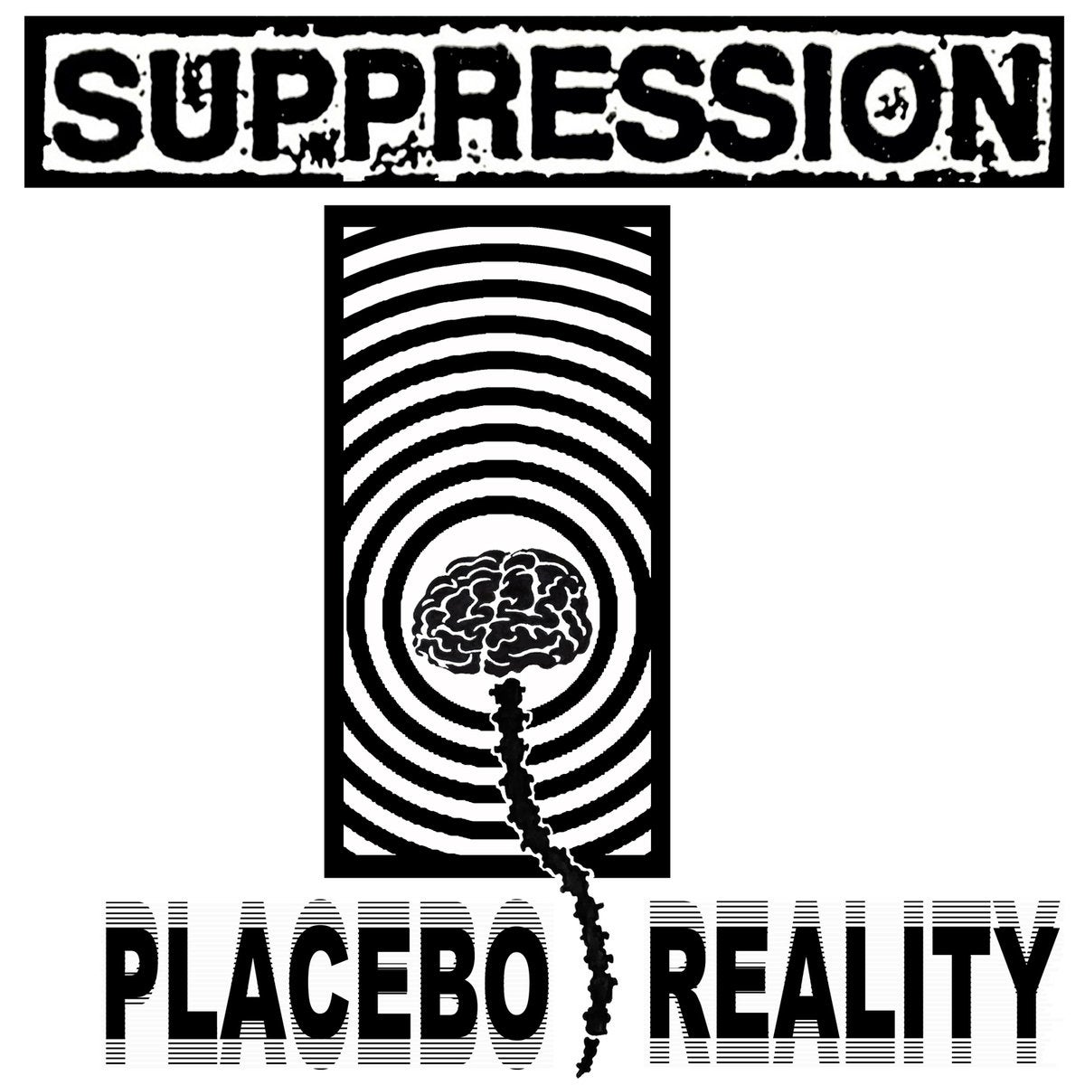 Image of Suppression - Placebo Reality 12""