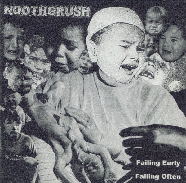 Image of Noothgrush - Failing Early, Failing Often CD