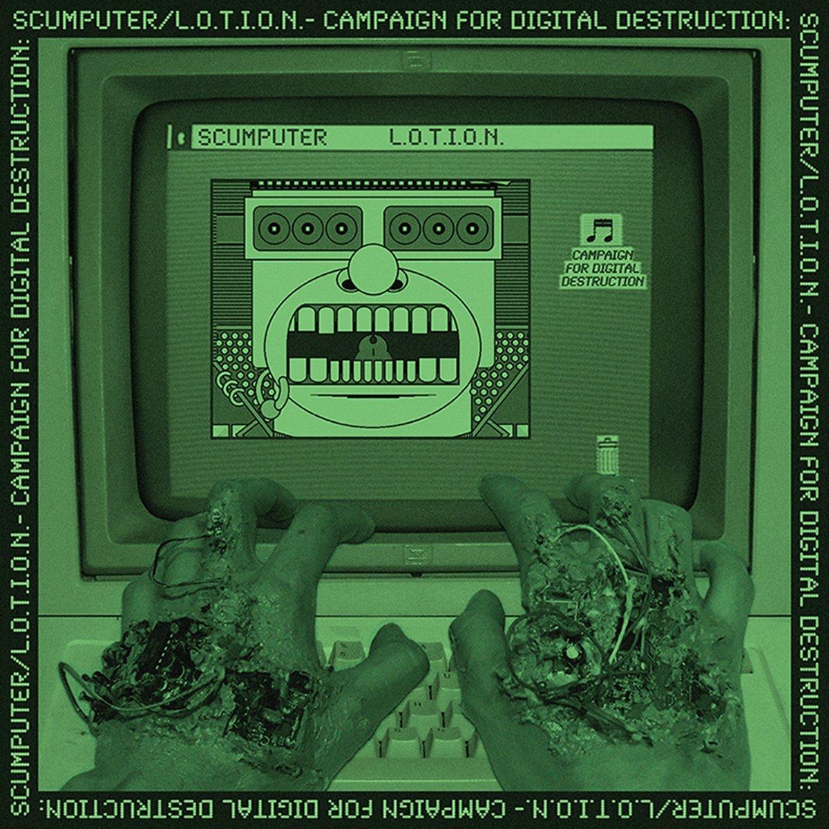 "Image of L.O.T.I.O.N. / Scumputer - Split 12"""
