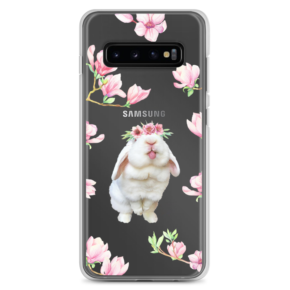 Image of Blanco 'Pink Flowers' Samsung Case