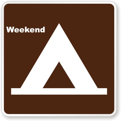 Image of Weekend Camping Pass