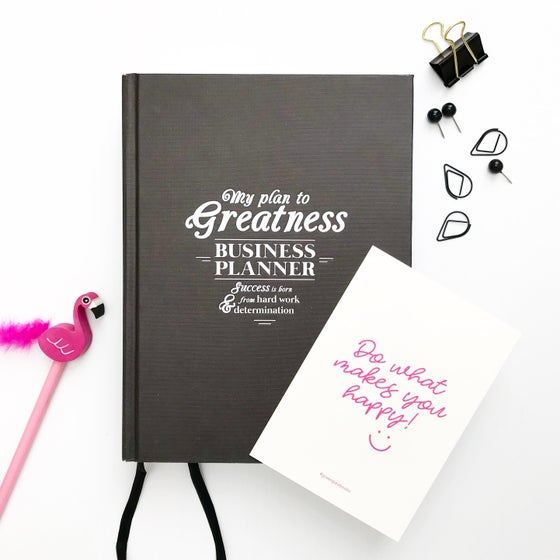 Image of Business Planner (BLACK) + FREE SHIPPING