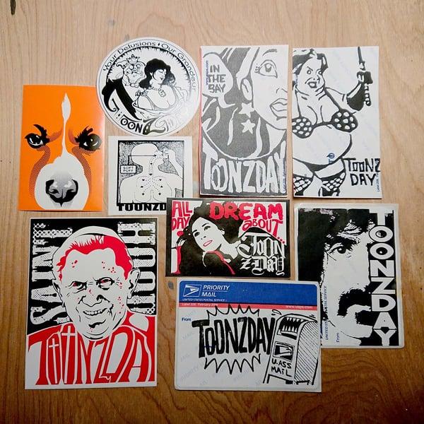 Image of TOONzDAY Sticker Pack