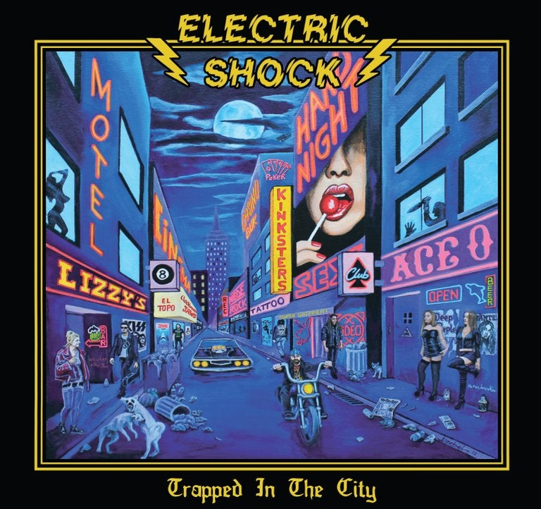 "Image of ELECTRIC SHOCK - Trapped in the city - CD ""SOLIDAIRE"""