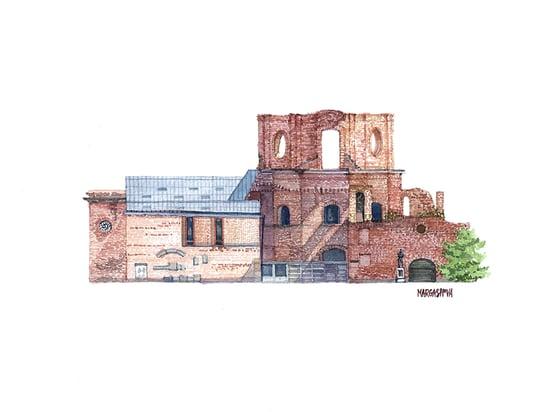 Image of Escuelas Pías - Lavapiés, Madrid | Original Watercolor | Acuarela Original