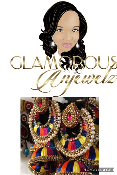 Image of Glamorous Anjewelz exclusive earrings