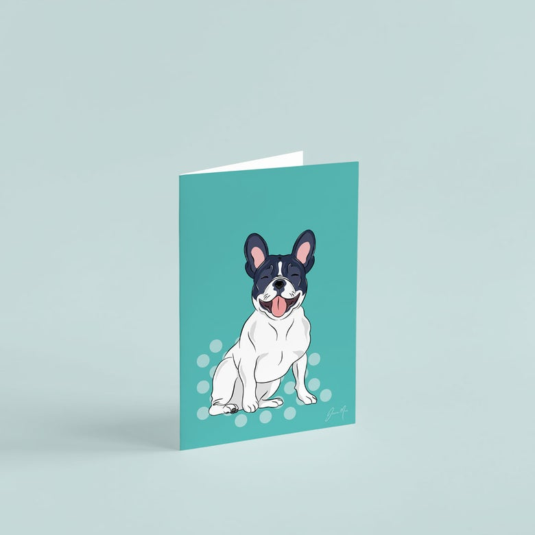 Image of French Bulldog Greeting Card