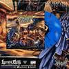 VULVODYNIA - Mob Justice - Blue splatter Vinyl