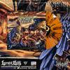 VULVODYNIA - Mob Justice - Orange  splatter - Vinyl