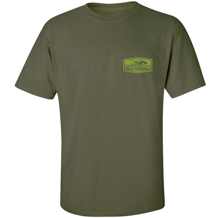 Image of Crappie Tee (o.d.)