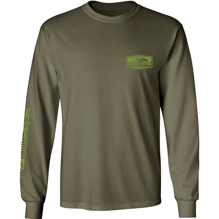 Image of Crappie Long Sleeve (o.d.)