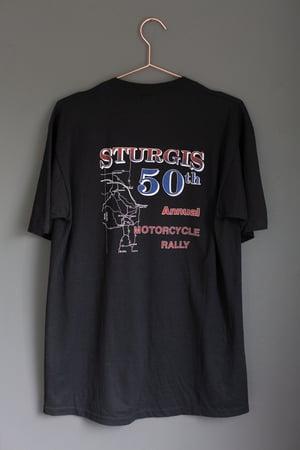 Image of 1990 Sturgis '50th Anniversary' Black Hills Rally Shirt