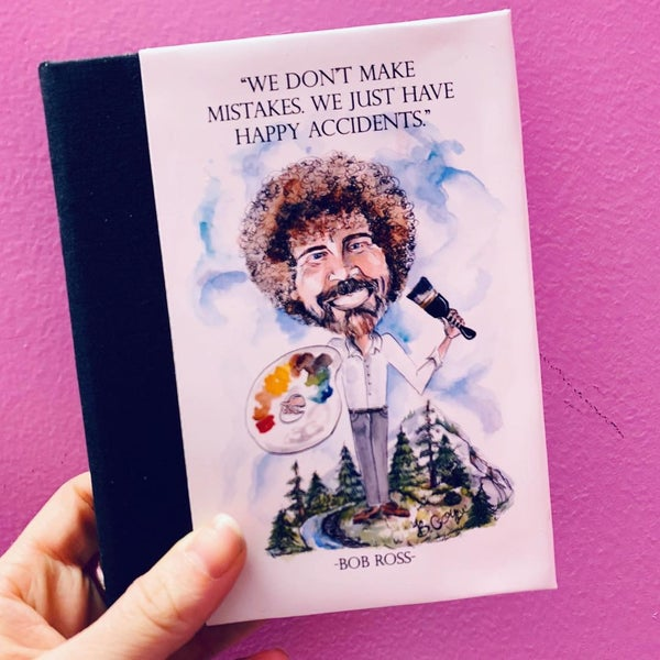 Image of 'Bob Ross' Sketchbook