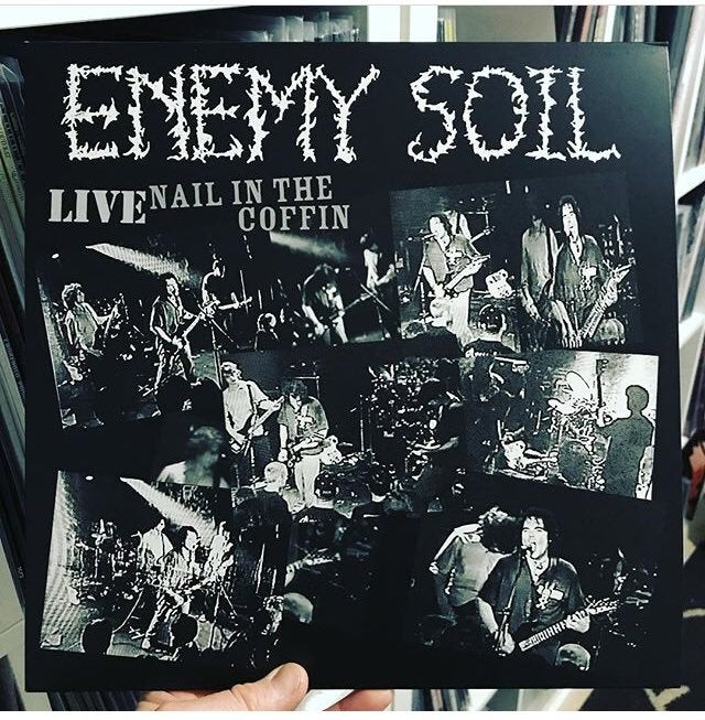 """Image of Enemy Soil - Live Nail In The Coffin 12"""""""