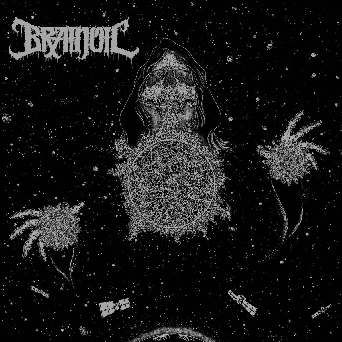 Image of Brainoil - Singularity To Extinction 12""