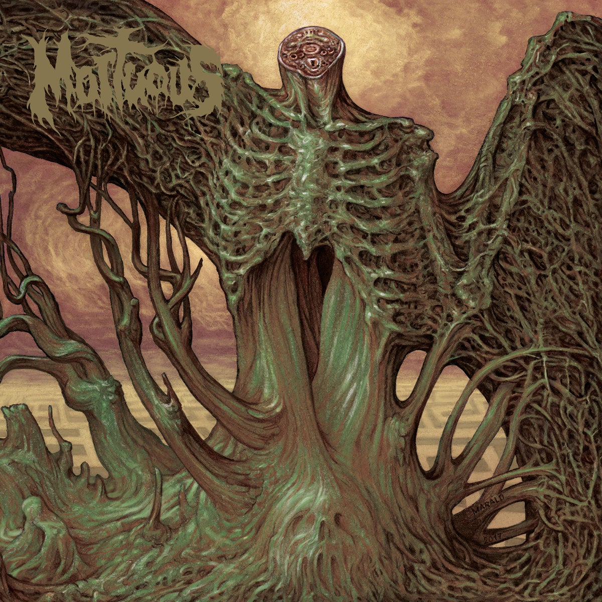 """Image of Mortuous - Through Wilderness CD / 12"""""""