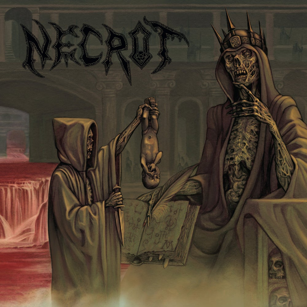 "Image of Necrot - Blood Offerings 12"" / CD"