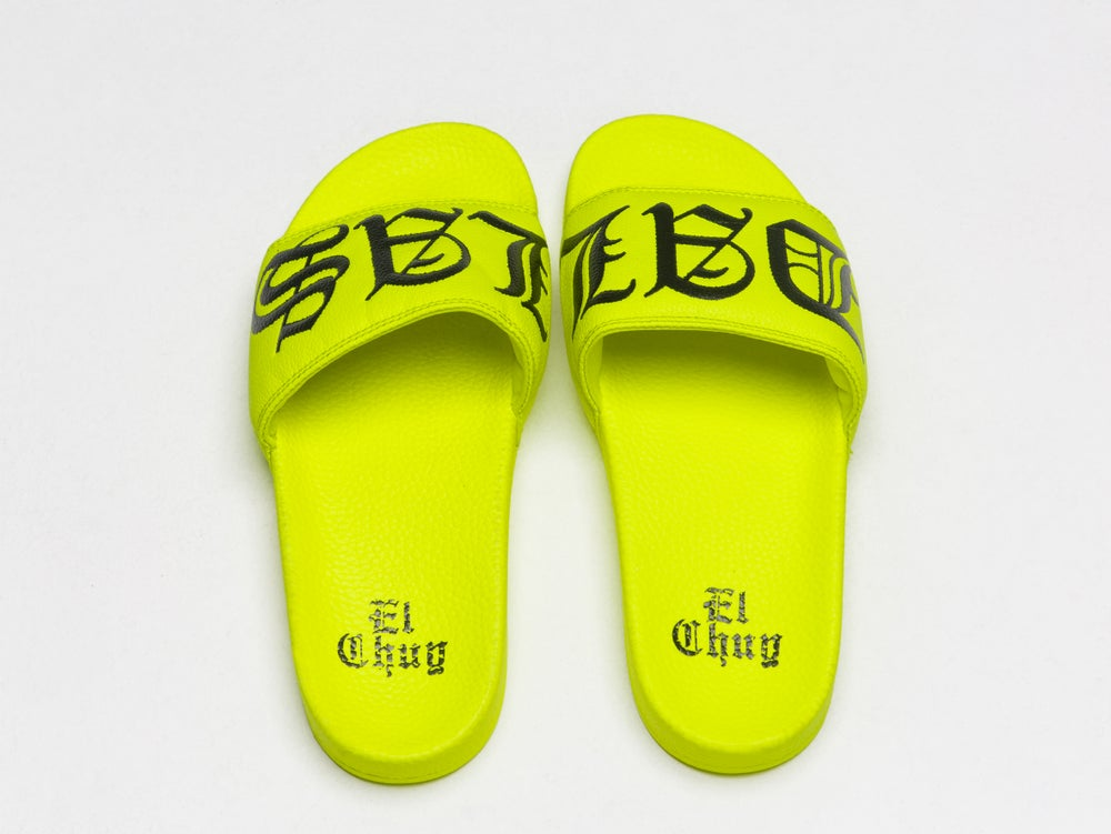 Image of DALLAS NEON SLIDES (PREORDER)