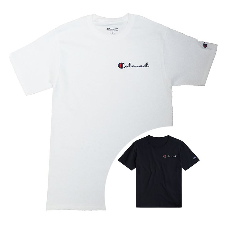 "Image of ""COLORED"" CHAMPION Tee (available in black)"