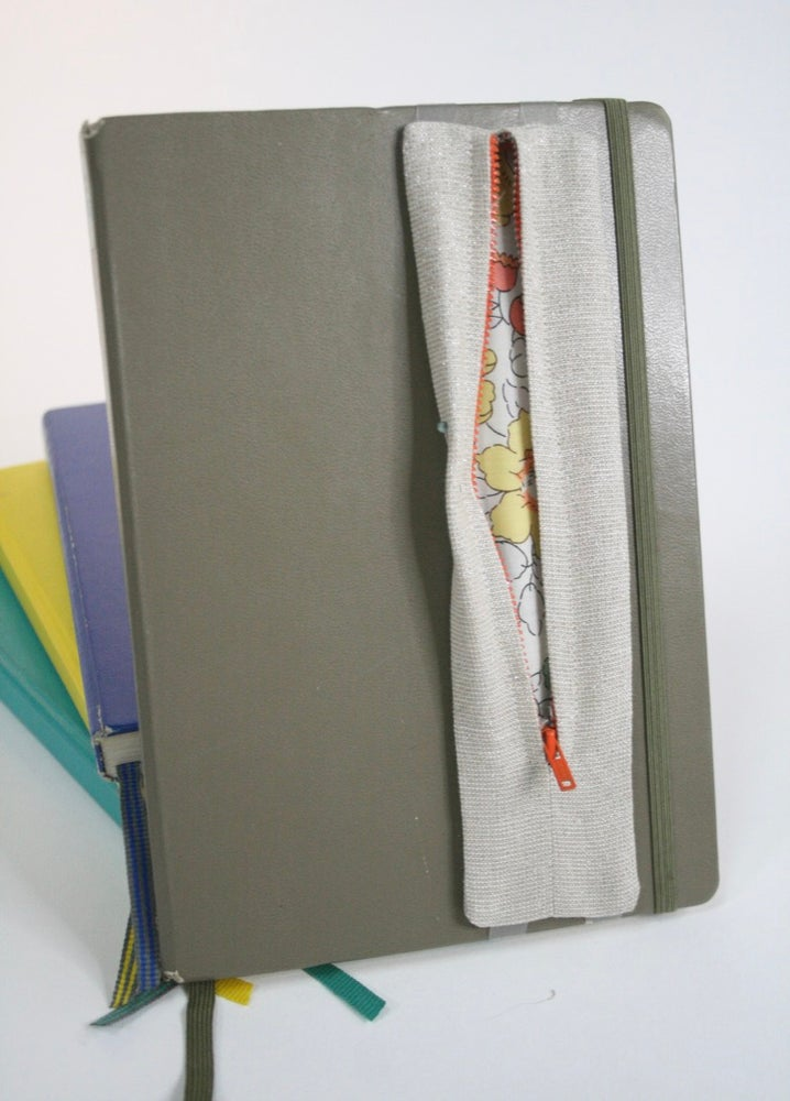 Image of Zippy Pen Pouches | Shimmer Linen/Cotton Blend