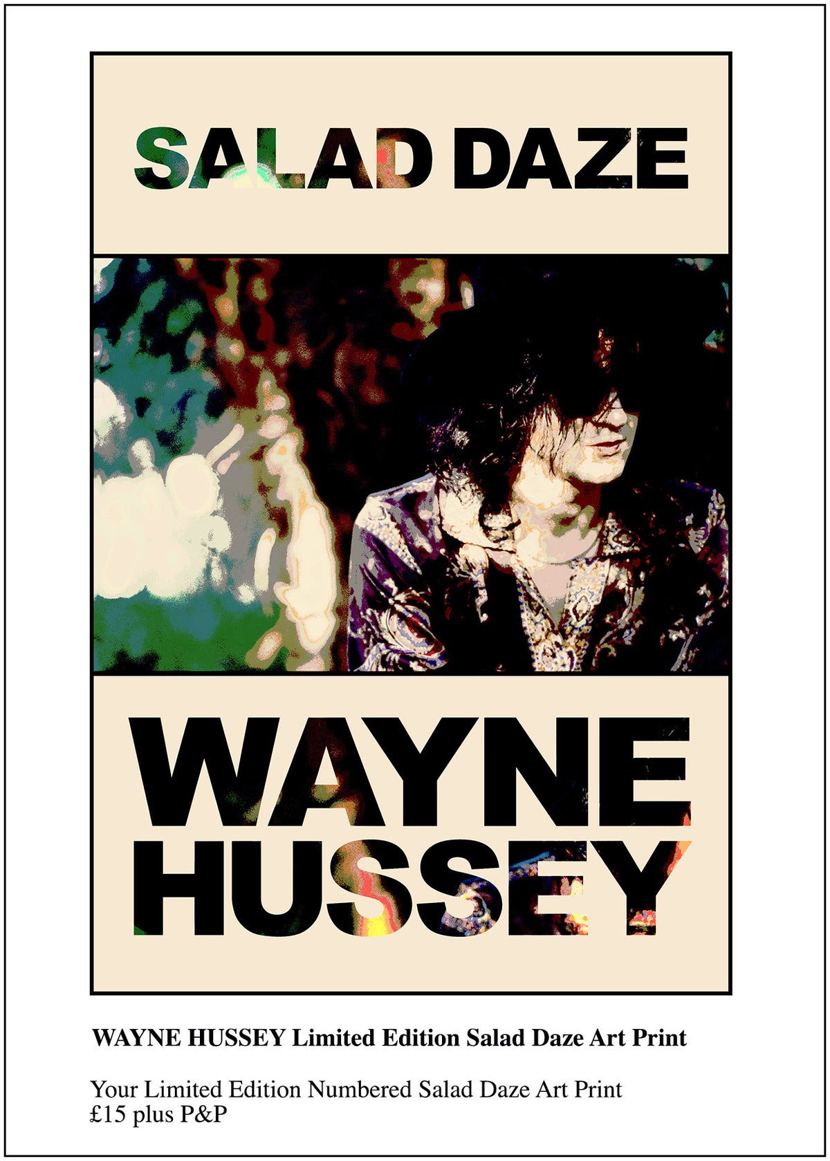 Image of WAYNE HUSSEY Salad Daze Numbered Art Print