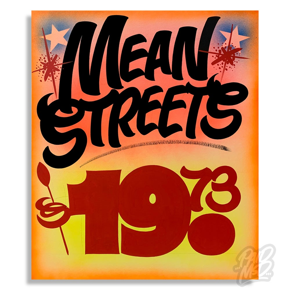 "Image of 22"" x 28"" - Mean Streets"