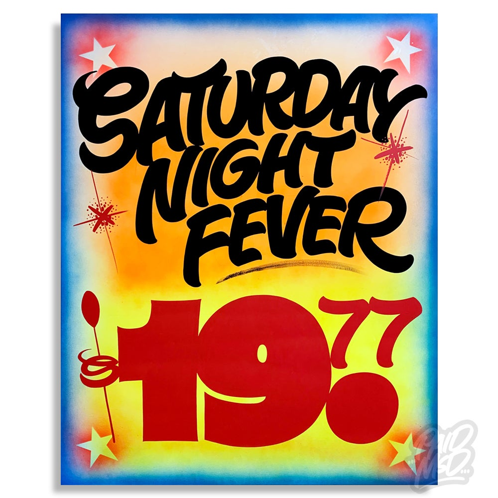 "Image of 48"" x 60"" - Saturday Night Fever"