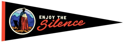 Image of Enjoy The Silence Pennant
