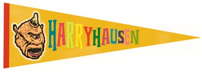 Image of Harryhausen Pennant