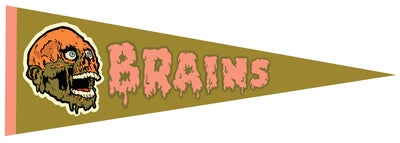 Image of Brains Pennant