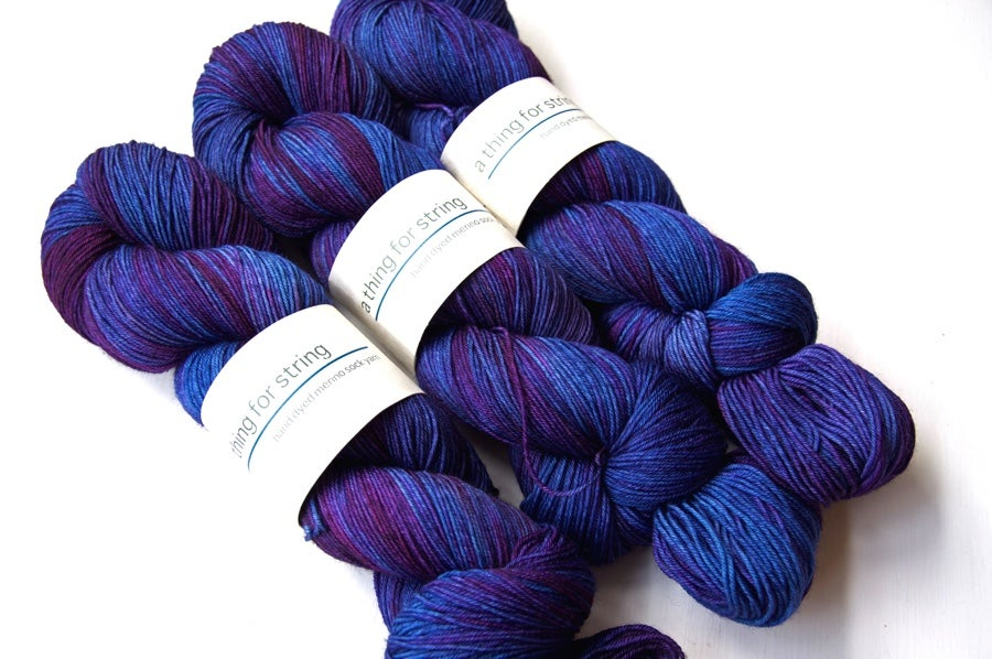 Image of Merino Sock — Starlight