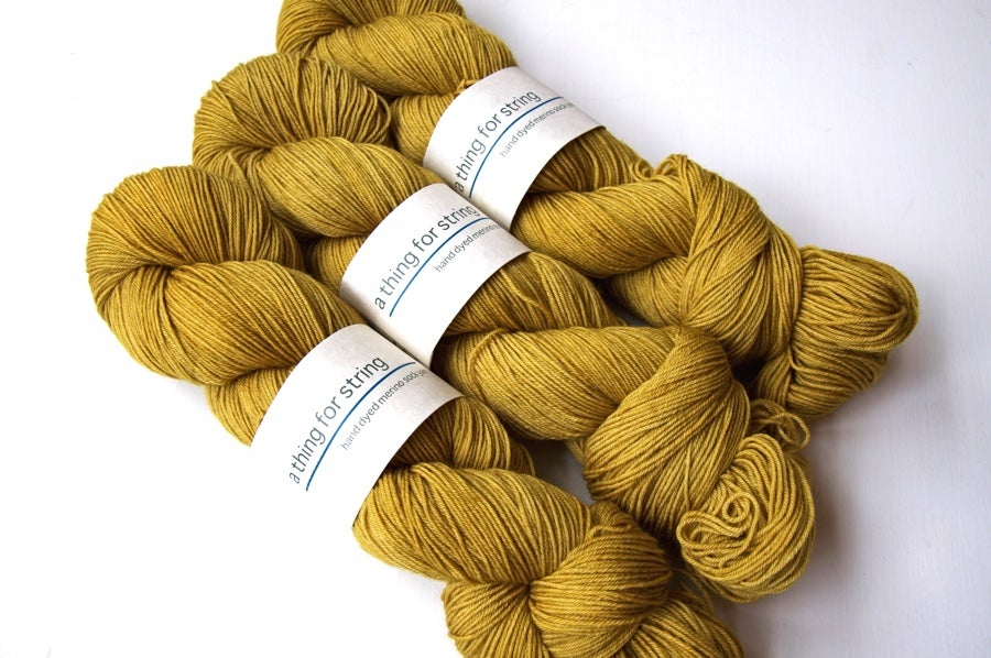 Image of Merino Sock — Amber Waves