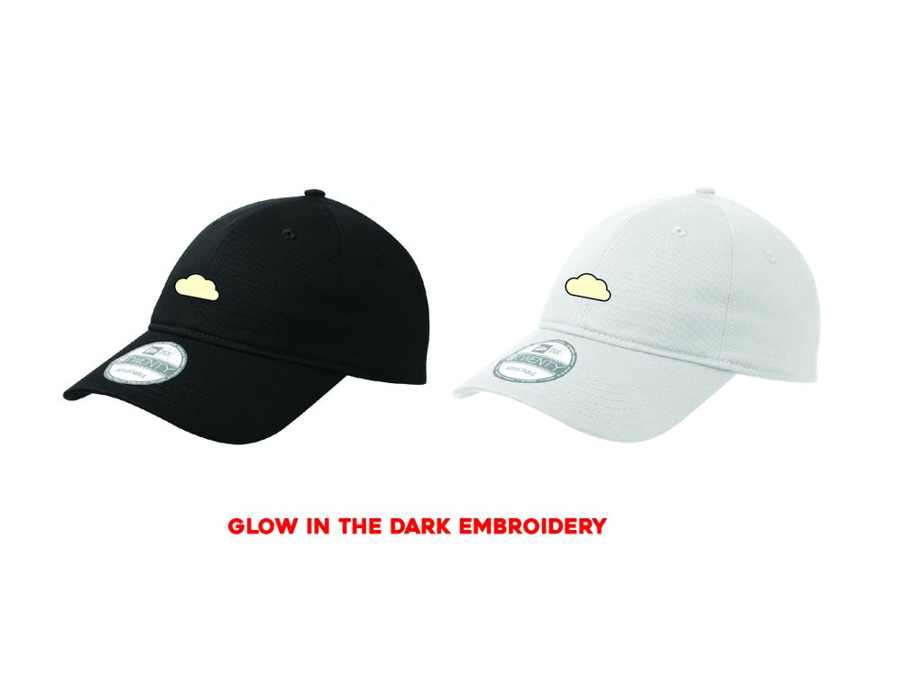 """CLOUD EMBROIDERY """"GLOW"""" DAD HAT"""
