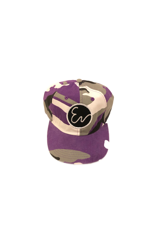 Image of PURPLE CAMO HAT