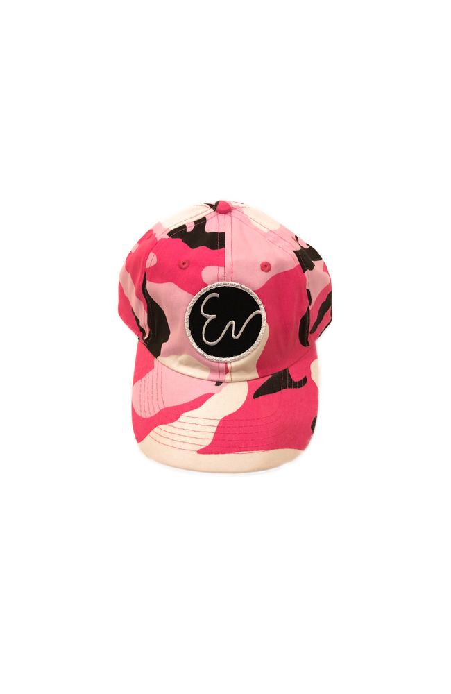 Image of PINK CAMO HAT