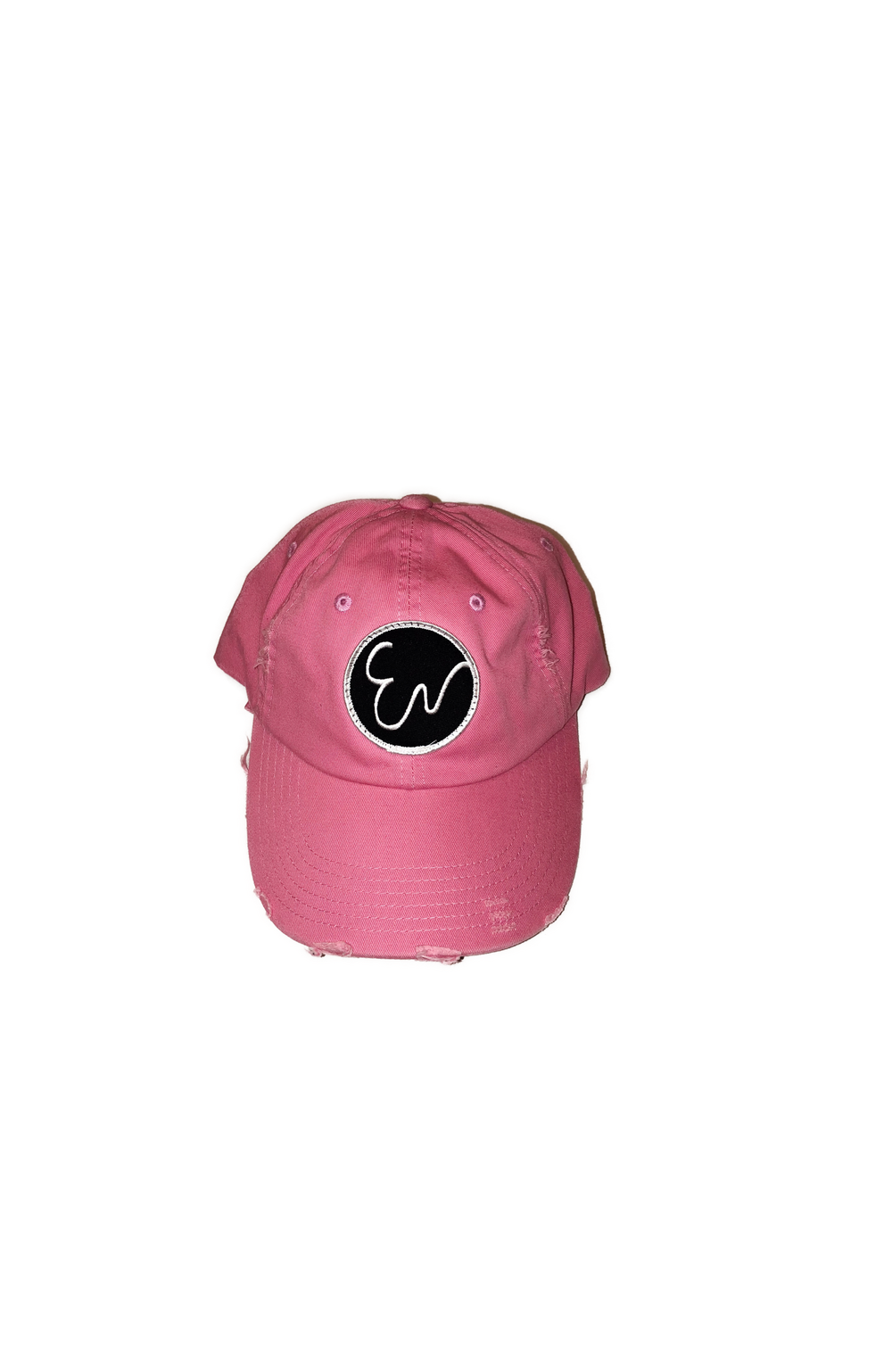 DISTRESSED PINK HAT