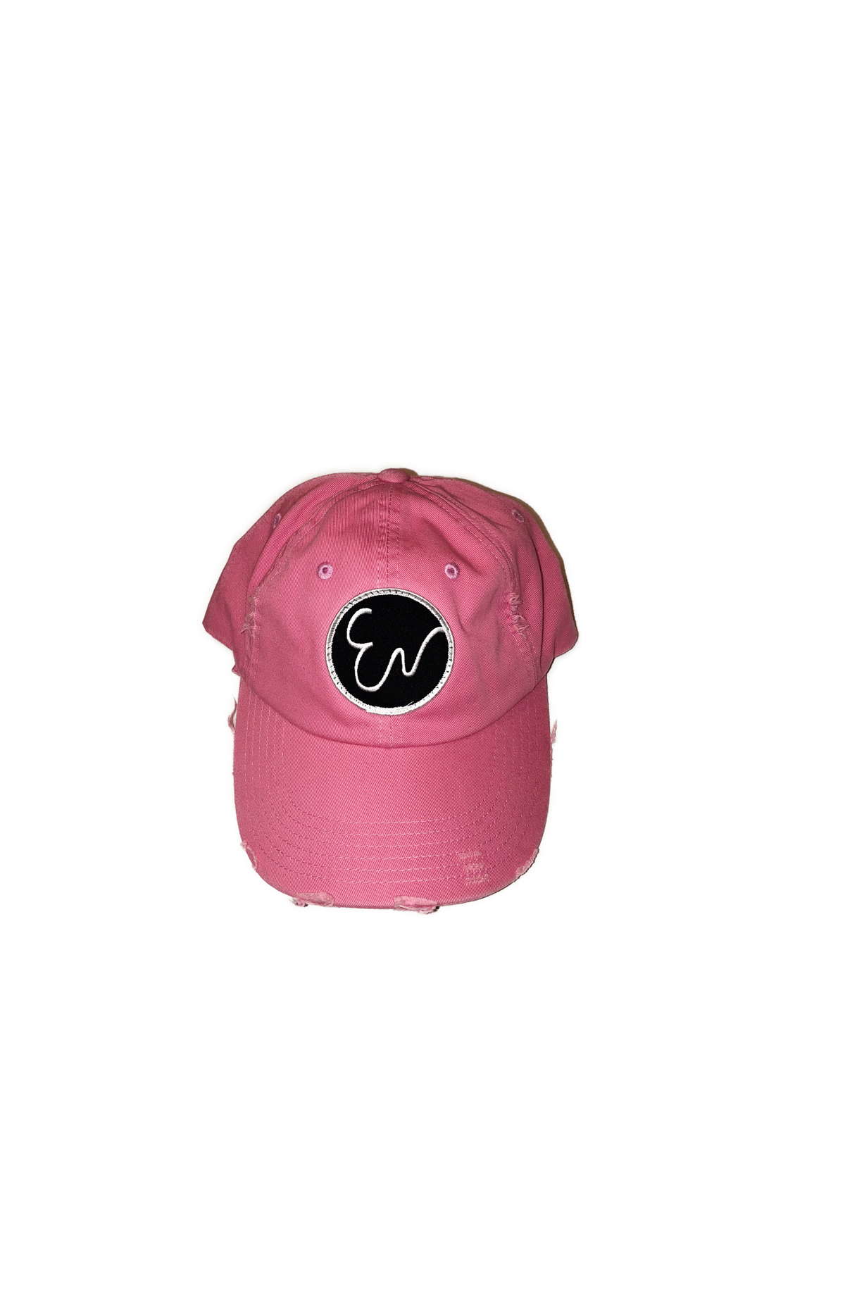 Image of DISTRESSED PINK HAT