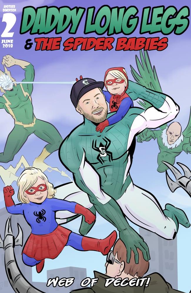 Image of Custom Comic Cover Art