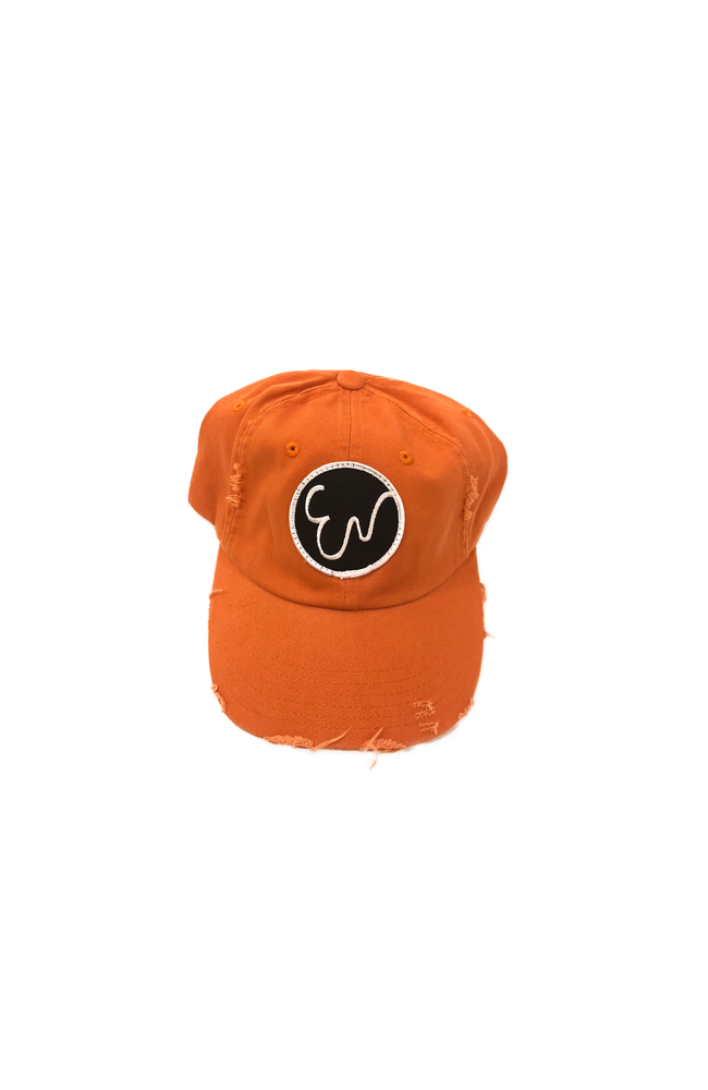 Image of DISTRESSED BURNT ORANGE HAT