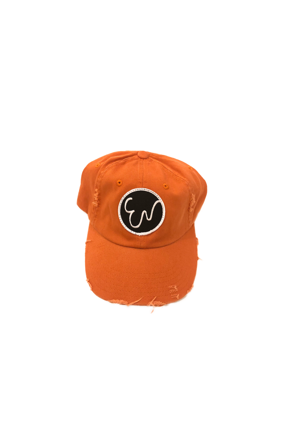 DISTRESSED BURNT ORANGE HAT