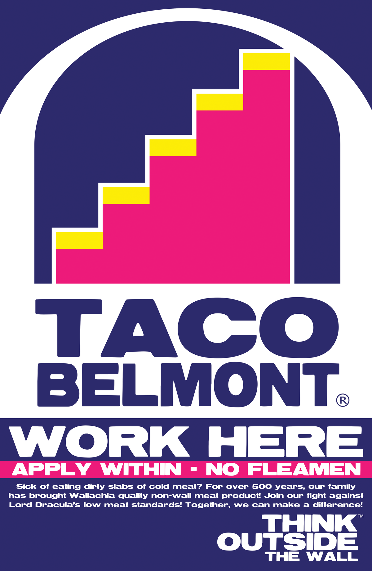 Image of Taco Belmont® Poster