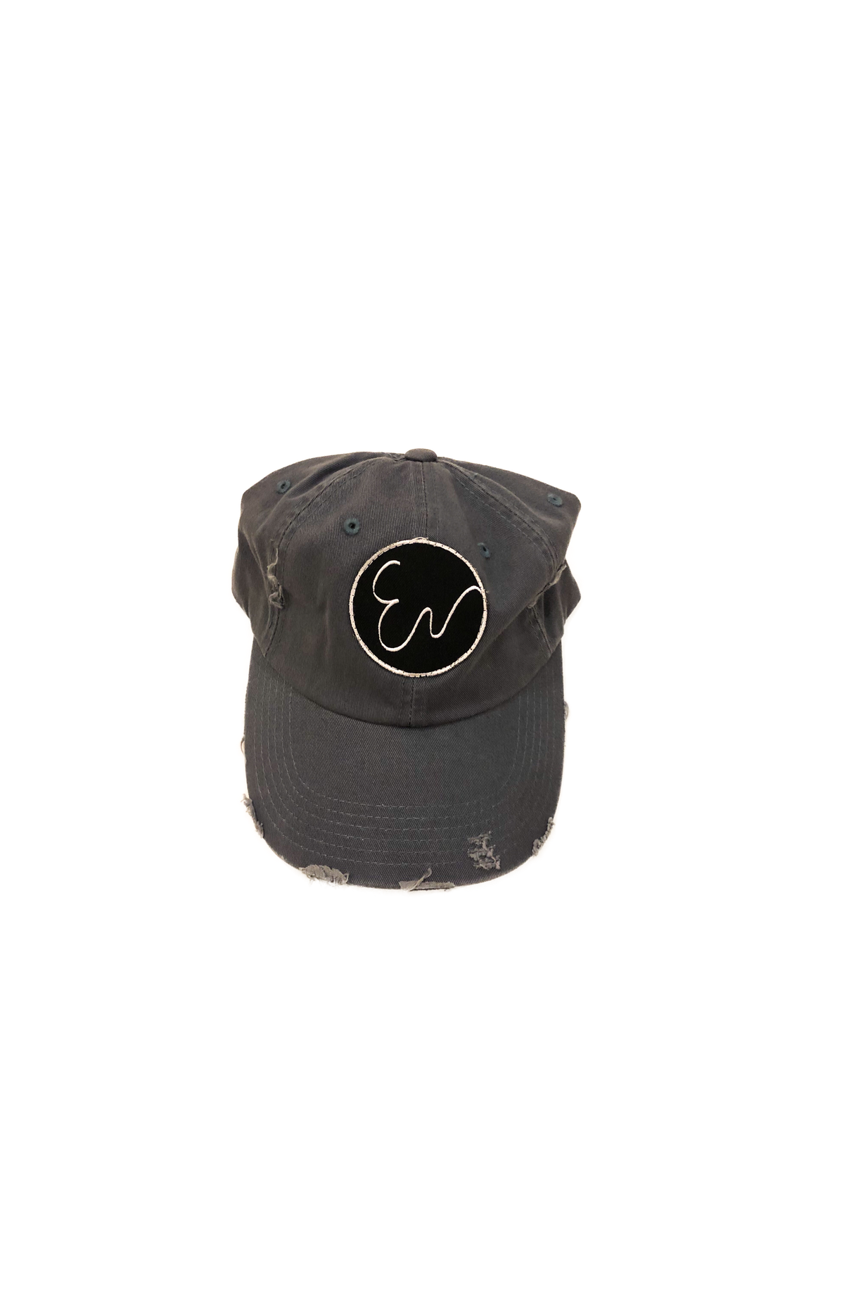 Image of DISTRESSED DUSTY BLUE HAT