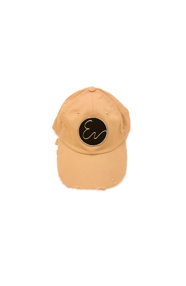 Image of DISTRESSED TAN HAT