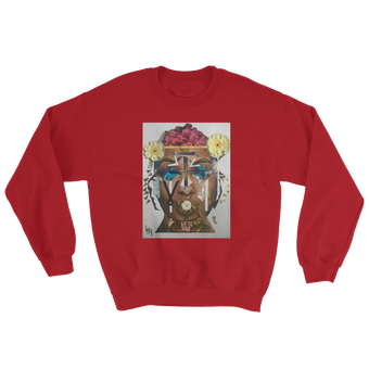Image of Red Nachami Unisex Crew Neck Sweatshirt (additional colors available)