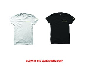 """Image of BOOSTED EMBROIDERY """"GLOW"""" T-SHIRT"""