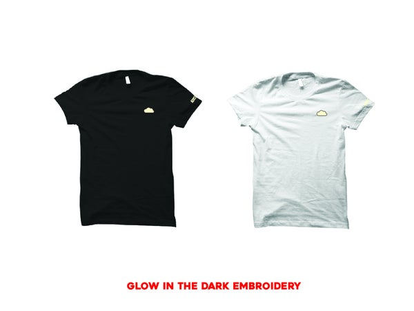 """Image of CLOUD EMBROIDERY """"GLOW"""" T-SHIRT"""